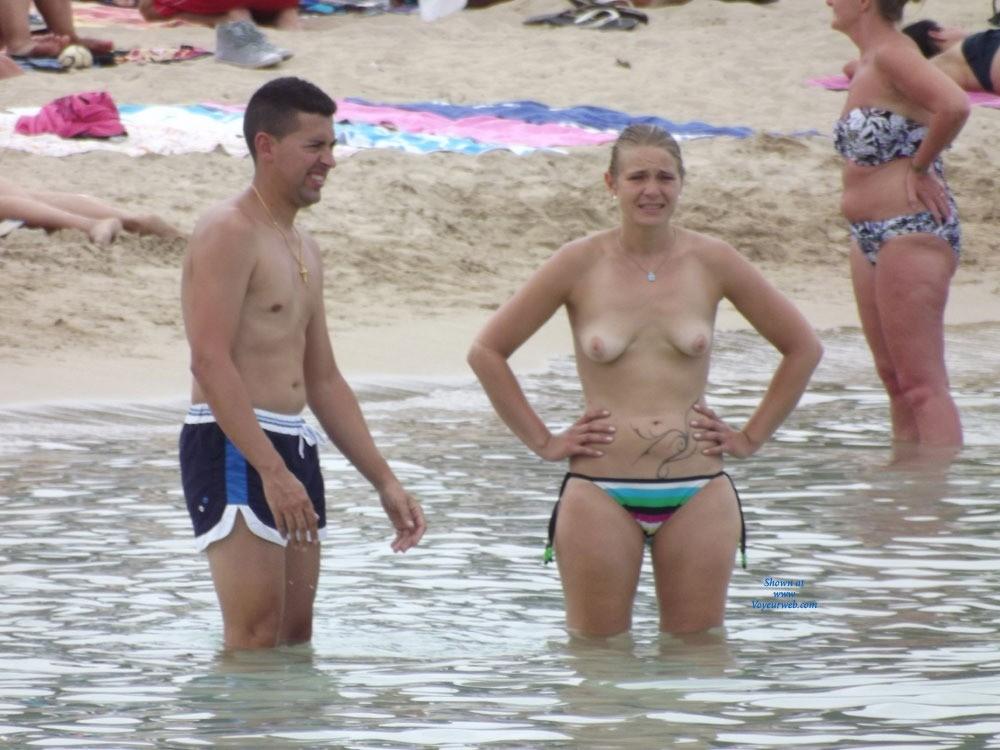 Pic #1 - Why You Taking My Photo? - Beach Voyeur , From Ibiza 2013