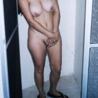Very large tits of a co-worker - Lise