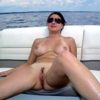 My Babe Juliette - Bikini Voyeur, Brunette, Medium Tits, Pussy, Shaved