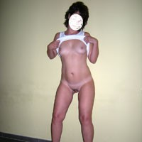 White - Brunette, Small Tits, Natural Tits, Pussy, Round Tits, Shaved
