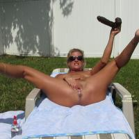 Playing in the Backyard Part 2 - Toy Fun!! - Masturbation, Nude Outdoors, Toys