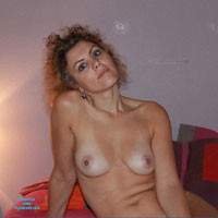 Beautiful Boobs - Hard Nipples, Medium Tits, Round Tits, Blonde, Natural Tits, Pussy