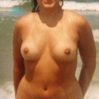 Jamaica and Playalinda - Beach, Bush Or Hairy, Brunette, Medium Tits, Pussy