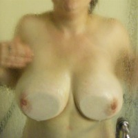 Extremely large tits of my wife - UKwifelover