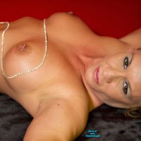 Naked - Big Tits, Body Piercings, Tattoos, Blonde, Firm Ass, Pussy, Shaved
