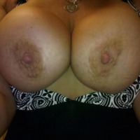 My very large tits - browneyes