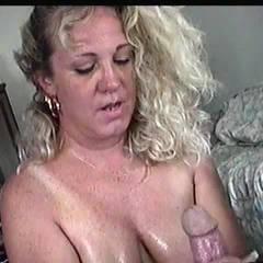 Andi POV 2 - Big Tits, Naked Blonde, Blowjob