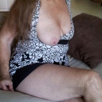 Large tits of my wife - lucy
