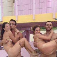 Nude Beach - Beach, Beautiful Ass, Firm Ass, Group, Wet