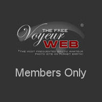 Two Pretty Girls Posing Naked - Blonde Hair, Brunette Hair, Girls, Nude In Public, Perfect Tits, Pussy Lips, Round Ass, Shaved, Tattoo, Sexy Ass