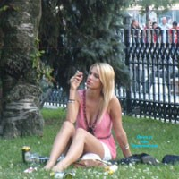 Budapest Street - Public Place, Blonde, Brunette, European And/or Ethnic