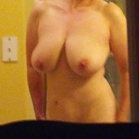 Large tits of my wife - Chix
