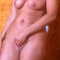 Large tits of my wife