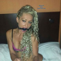 Ms Slave - Blonde, S&M, Lingerie, Masturbation, Pussy, Shaved, Toys