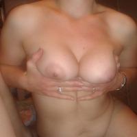 Medium tits of my wife - Julia