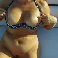Large tits of my wife - Mrs Wave