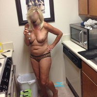 Around The Apartment - Blonde, Round Tits, Medium Tits, Pussy