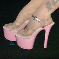 My Pink Heels - High Heels Amateurs, Blonde