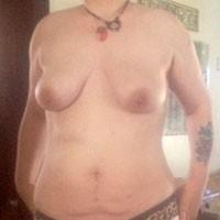 Missing Something???? - Big Tits, Tattoos