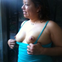 Large tits of my wife - Rica