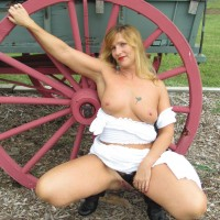 See-Thru Gypsy RC - Big Tits, Blonde, Outdoors