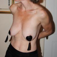 Large tits of my girlfriend - MILF