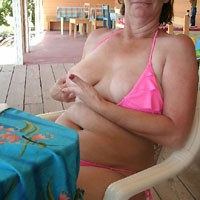 Pinkie Bikini - Beach, Bikini Voyeur, Big Tits