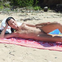 The QLD Sun 2 - Beach, Shaved, Small Tits, Brunette, Natural Tits, Tattoos