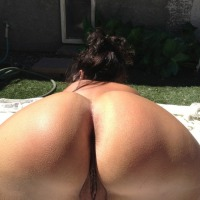 My ass - NUDE-WIFE Paige