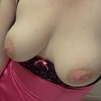 Medium tits of my wife - Andi
