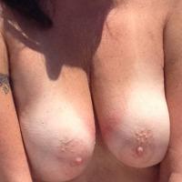 Medium tits of my wife - Liz