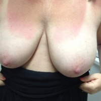 Very small tits of my wife - Wifeys tits