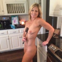 Back to Reality - Blonde Hair, Perfect Tits, Pussy Lips, Shaved, Sexy Ass , Back Home From Casino Fun And Into The Kitchen. ... Who Says The Kitchen Can't Be Fun?!