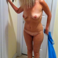 My small tits - blondie