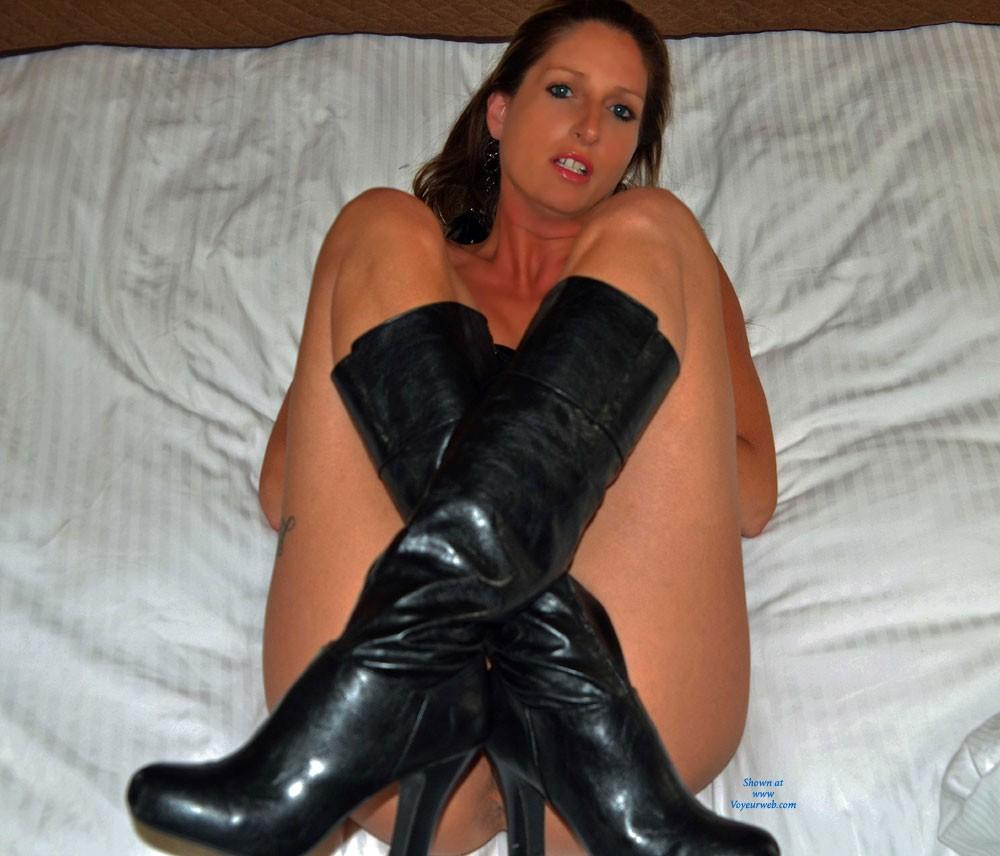high boots voyeur
