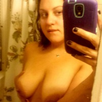 Medium tits of my girlfriend - Starla