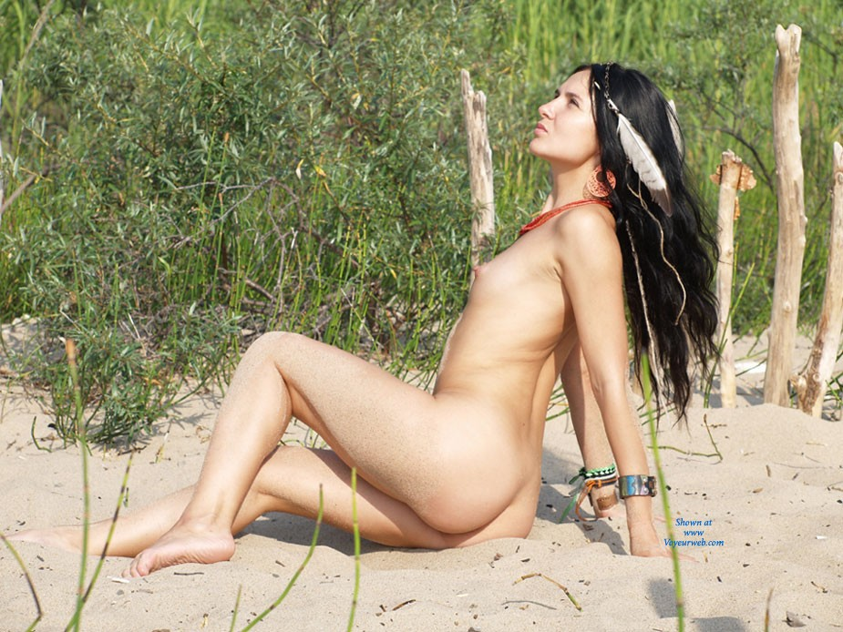 Pic #1 - Amazon Goes .... - Brunette Hair, Hard Nipple, Pussy Lips, Shaved, Small Tits, Beach Voyeur, Sexy Ass, European And/or Ethnic , Amazon Goes .... Until We Meet Again!