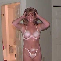 In The Pink - Lingerie, Small Tits, Blonde