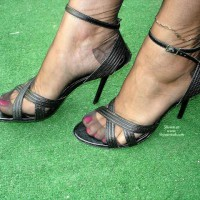Monica's Sexy Feet stilettos