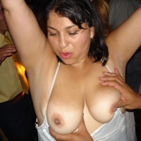 Large tits of my girlfriend - rosario