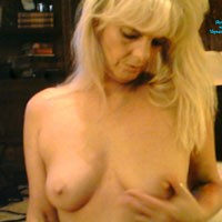 My Sweet Tits - Hard Nipples, Blonde, Medium Tits, Mature