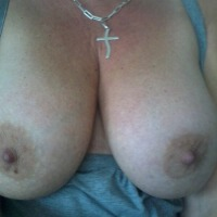 Very large tits of my ex-wife - Andrea