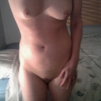 Very small tits of my girlfriend - UK Liz
