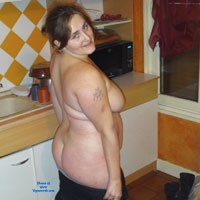 Salope Normande - Brunette, Big Tits, Hard Nipples, Pussy, Big Ass, Bush Or Hairy