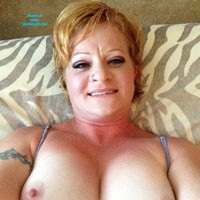 Couldn't Resist Trying Again - Big Tits, Tattoos, Blonde, Hard Nipples, Lingerie, Natural Tits