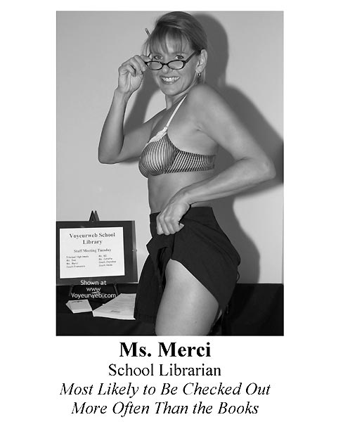 Pic #1 - Yb Ms. Merci Vw School Librarian