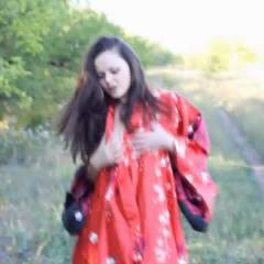 Adriana@Summer - Brunette, Masturbation, Nature, Softcore