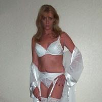 White Nite - Lingerie, Blonde, Medium Tits