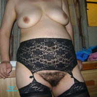 Mi Hairy Friend - Lingerie, Bush Or Hairy, Medium Tits, Pussy