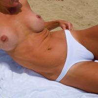 Medium tits of my girlfriend - Colette